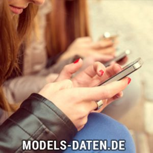 Model mit der Sugar Daddy App